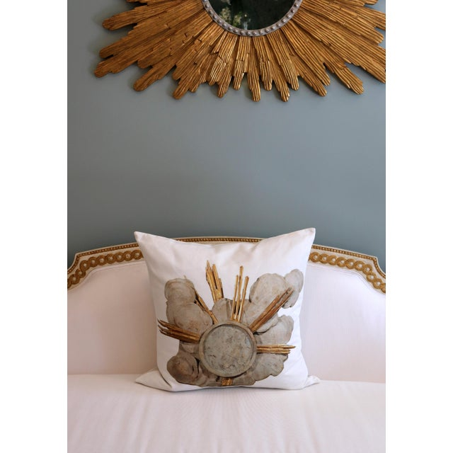 French Cathedral Altar Fragment Photo Pillow For Sale - Image 11 of 13