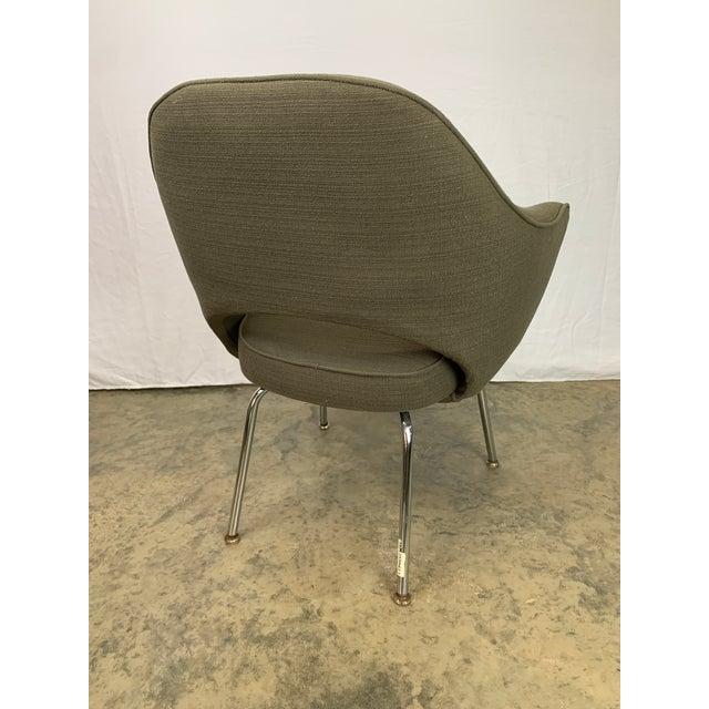 Eero Saarinen Executive Arm Chair Attributed to Eero Saarinen for Knoll For Sale - Image 4 of 11