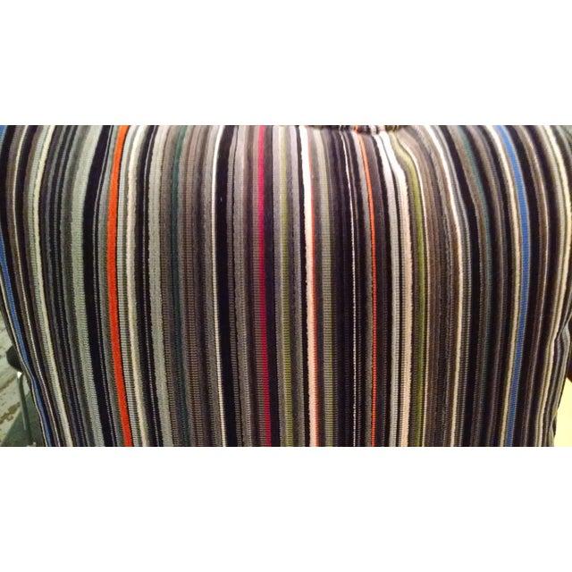 Maharam Paul Smith Epingle Stripe Pillows - A Pair - Image 6 of 6