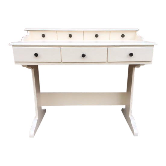 Vintage Painted Writing Desk - Image 1 of 6