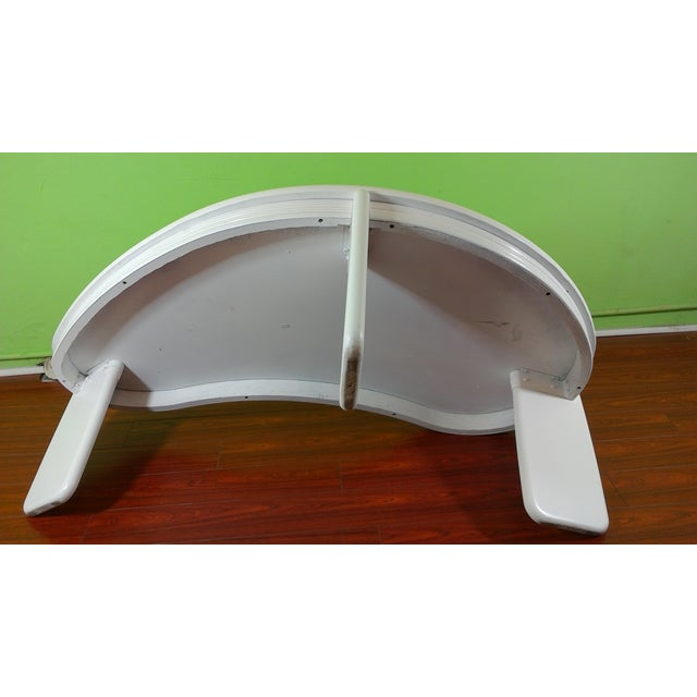 Kidney Shaped Coffee Table - Image 6 of 11