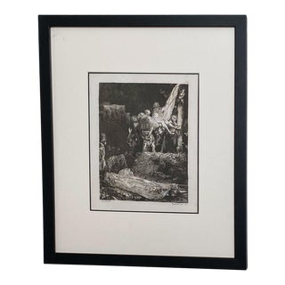 Late 18th Century Rembrandt Etching #2, by Francesco Novelli For Sale