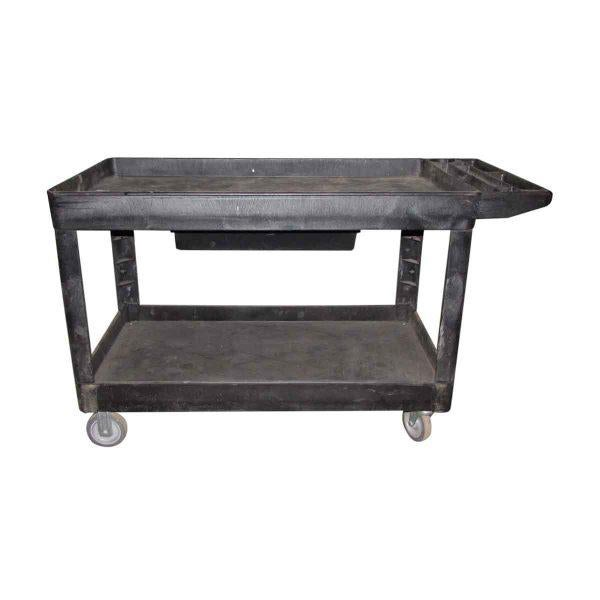 Industrial Plastic Cart With Drawer - Image 4 of 8