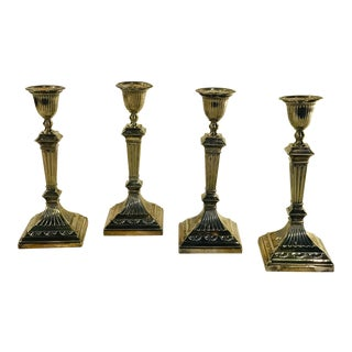 Tiffany Candle Sticks - Set of 4 For Sale