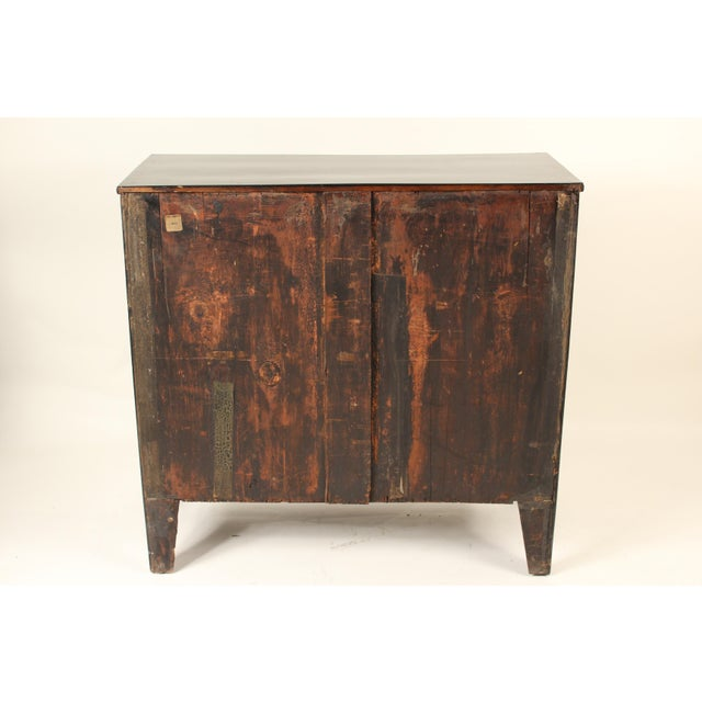 George III Ebonized Chest of Drawers For Sale - Image 4 of 13