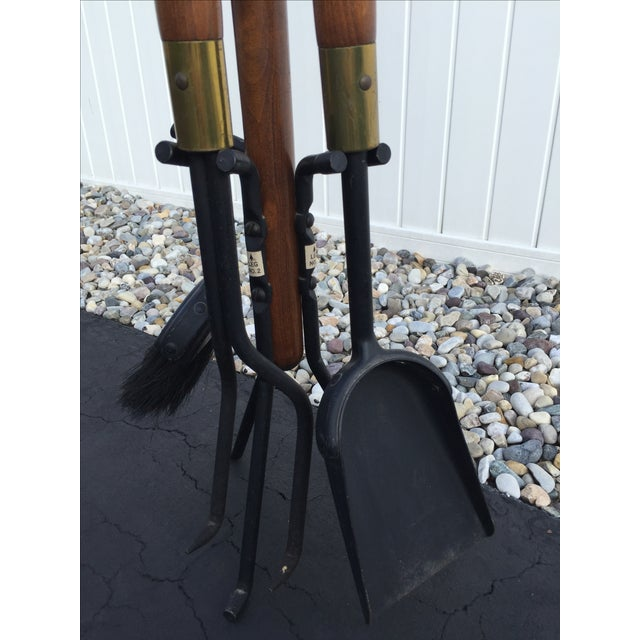 Mid-Century Modern Seymour Fireplace Tools - Image 3 of 6