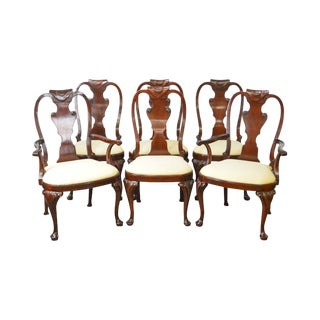 Baker Historic Charleston Collection Mahogany Dining Chairs - Set of 6