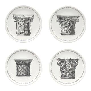 Mid-century Italian Bucciarelli Porcelain Coasters, Set of 4 For Sale