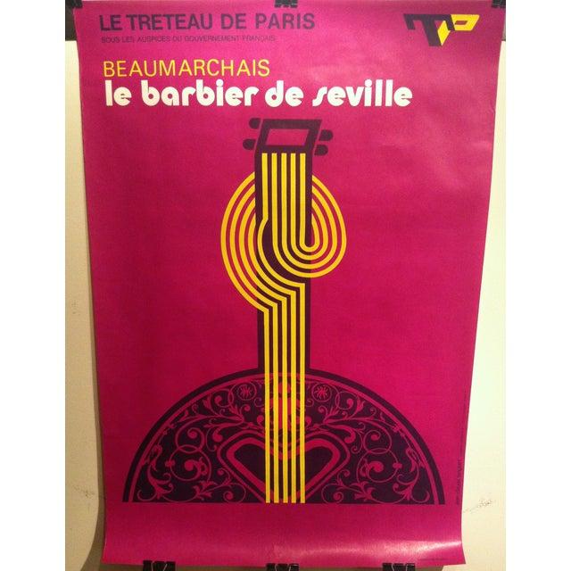"French""Barbier De Seville"" Lenglart Lithograph - Image 2 of 6"