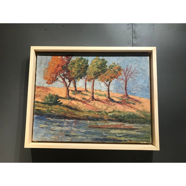 Impasto Landscape Painting For Sale - Image 4 of 4