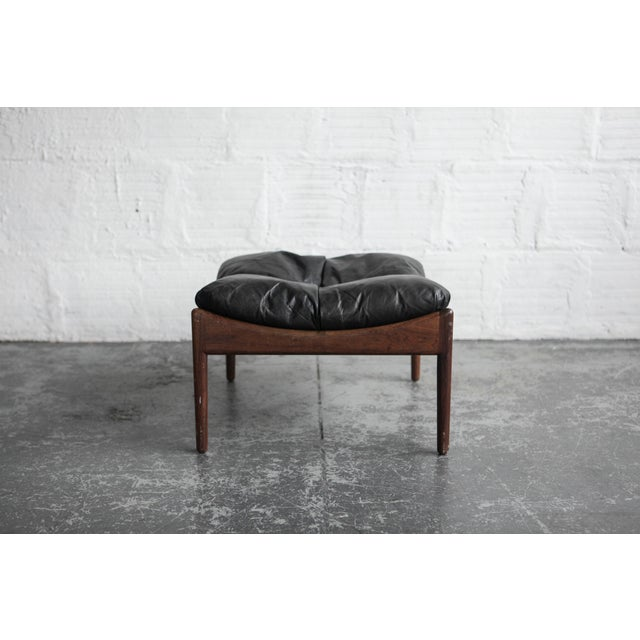 Kristian Solmer Vedel Modus Lounge Chair & Ottoman - Image 3 of 8