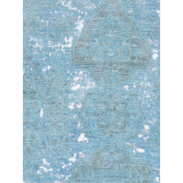 Looking for a rug that makes a statement? Look no further than this gorgeous overdyed rug. Now Pasargad's best selling rug...
