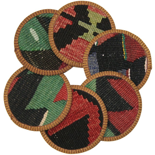 Kilim Coasters, Ünye - 6 - Image 1 of 2