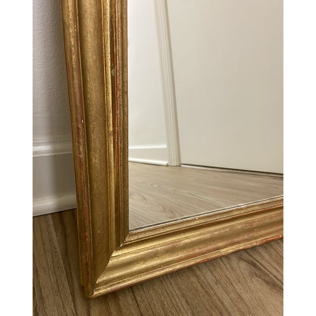 Early 19th Century Early 19th Century Giltwood Louis Philippe Mirror For Sale - Image 5 of 8