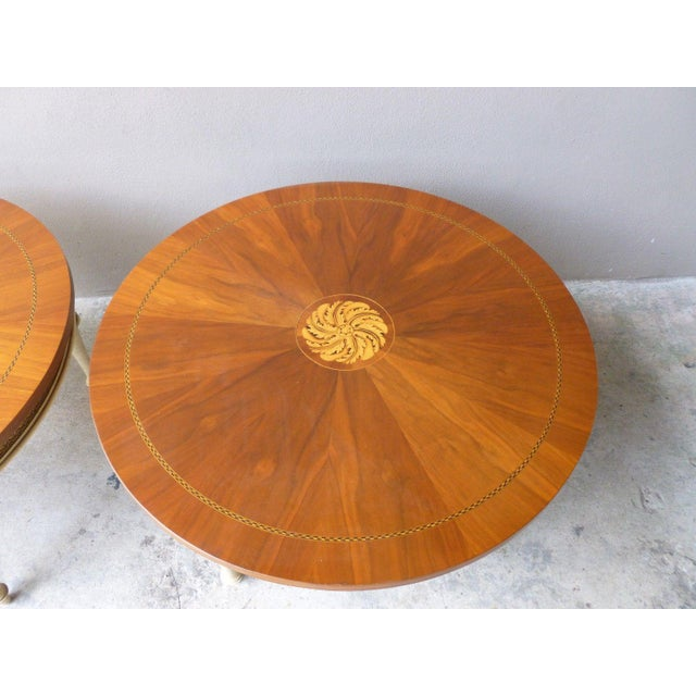 1950s Neoclassical Palladio Coffee Tables - a Pair For Sale - Image 9 of 13