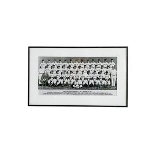 Vintage Boston Red Sox Photography Print, Framed For Sale