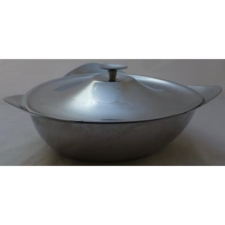 Mid-Century Danish Modern Stainless Covered Casserole Preview