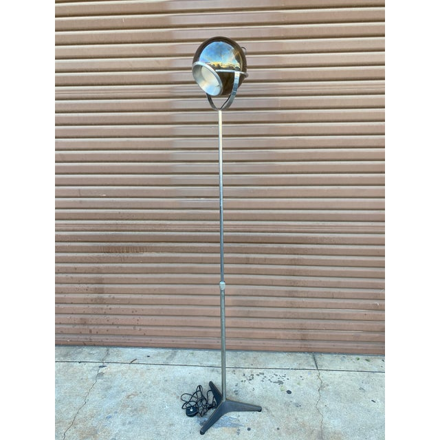 Mid-Century Modern 1960s Mid-Century Modern Globe Floor Lamp in the Style of Frank Ligtelijn for Raak For Sale - Image 3 of 5