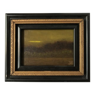 Small Framed Landscape Oil Painting For Sale