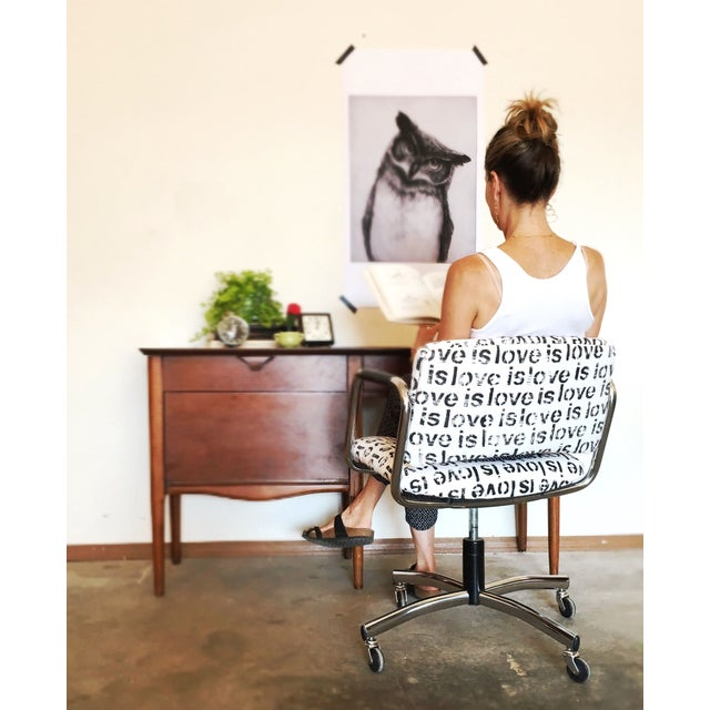 Mid-Century Custom Steelcase Office Chair - Image 6 of 7