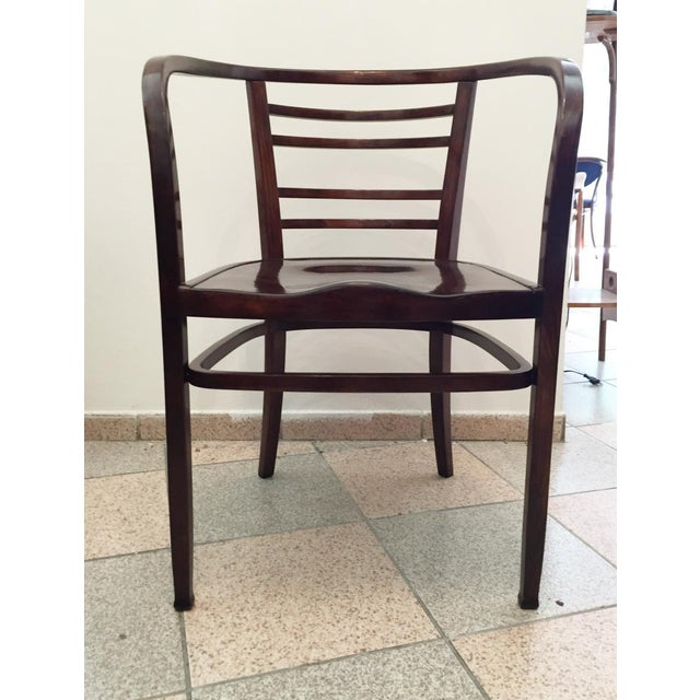 Otto Wagner Viennese Secession bentwood armchair, 1900s For Sale - Image 4 of 8
