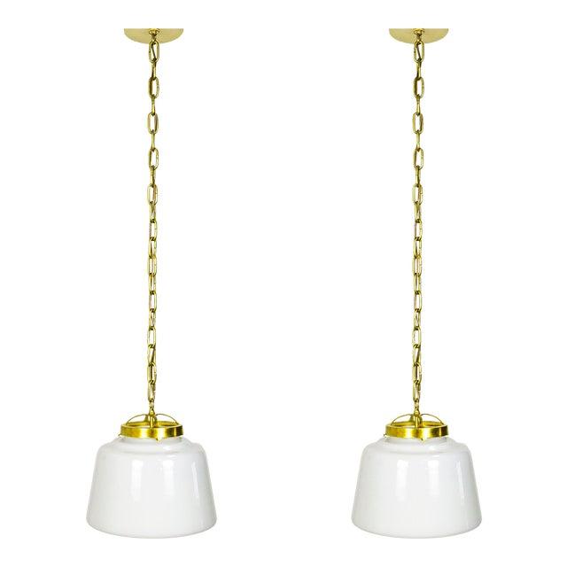 Schoolhouse Lanterns (pair) For Sale