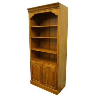 Late 20th Century Vintage Ethan Allen Circa Collection Open Bookcase Preview