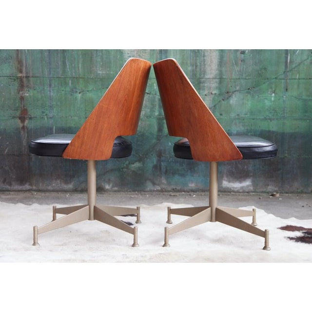 "1960s 1960s Mid Century ""Orange Slice"" Dining Set - 5 Pieces For Sale - Image 5 of 11"