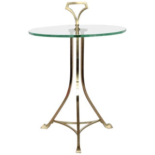 Midcentury Italian Geuridon Drink Table For Sale