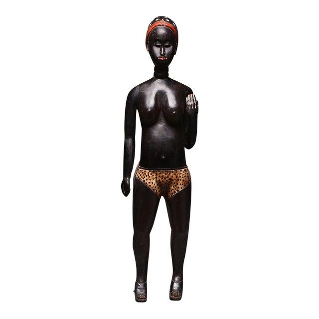 Baulé Standing Female Figure For Sale