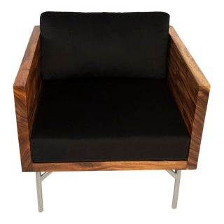Phillips Collection Verve Club Chair, Solid Sloben For Sale