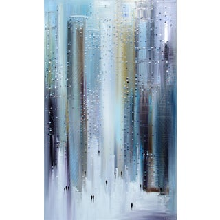 """Steel City"" Original Artwork by Ekaterina Ermilkina For Sale"