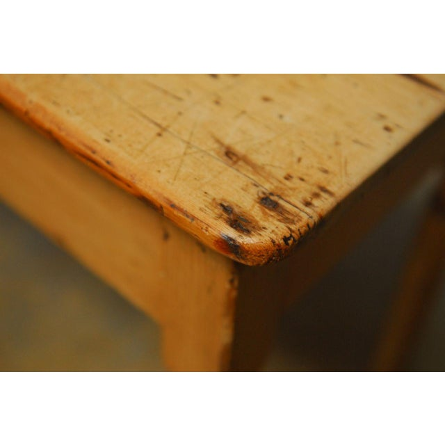 19th Century French Pine Console Table For Sale - Image 4 of 9