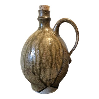 Jane Rekedal for Family Gooey Pottery Organic Stoneware Jug For Sale
