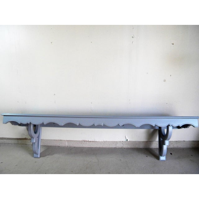 Vintage Painted Wall Console - Image 2 of 6