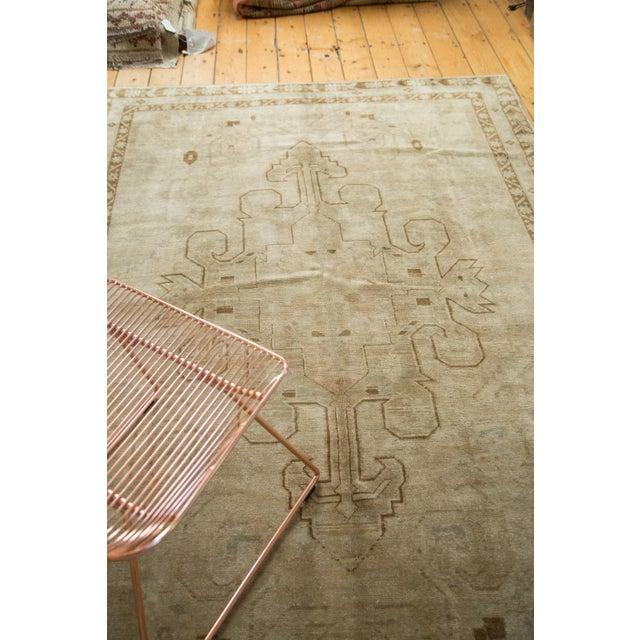 "Vintage Oushak Carpet - 5'8"" X 8'3"" - Image 5 of 10"