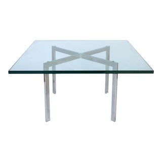 Vintage Small Barcelona Style Coffee Table For Sale