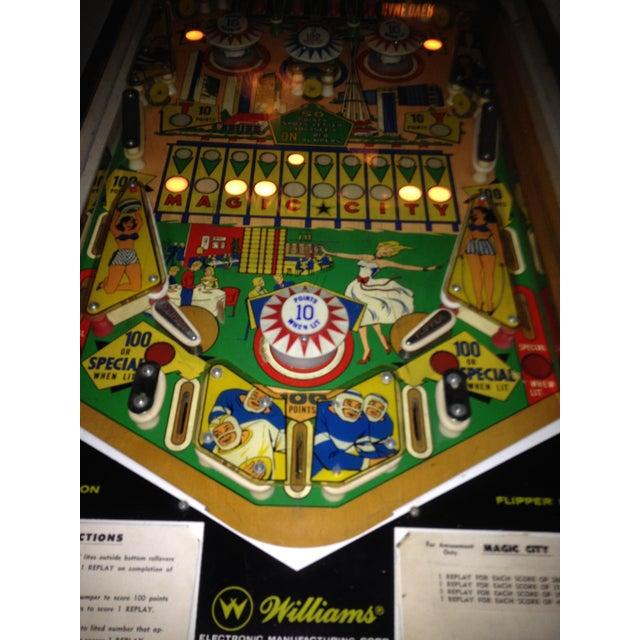 Mid-Century Williams Magic City Pinball Machine - Image 10 of 10