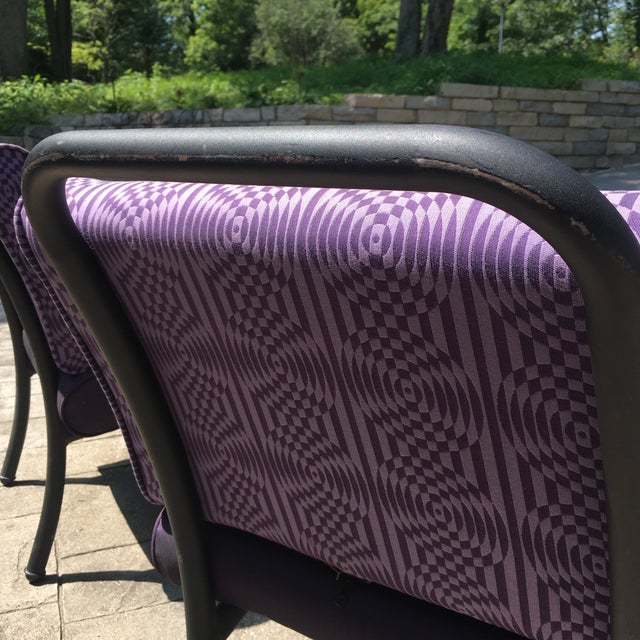 1980s 1990s Memphis Modern Style Club Chairs - a Pair For Sale - Image 10 of 13