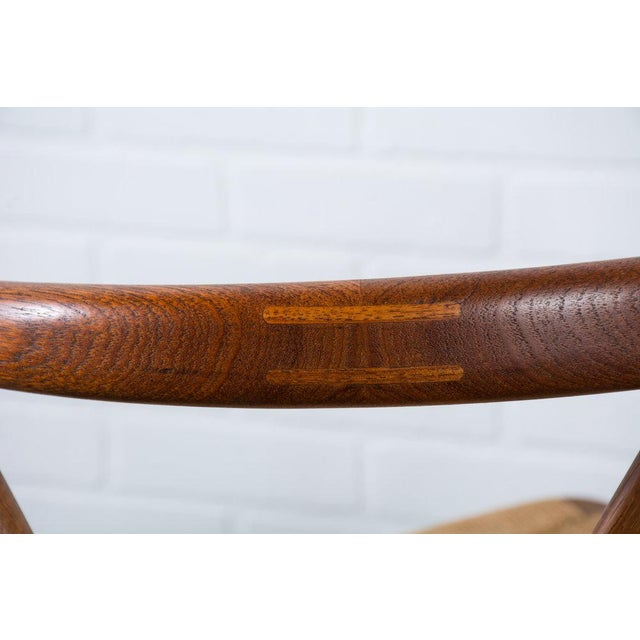 Brown Henning Kjærnulf for Bruno Hansen Model 255 Teak Chairs - A Pair For Sale - Image 8 of 13