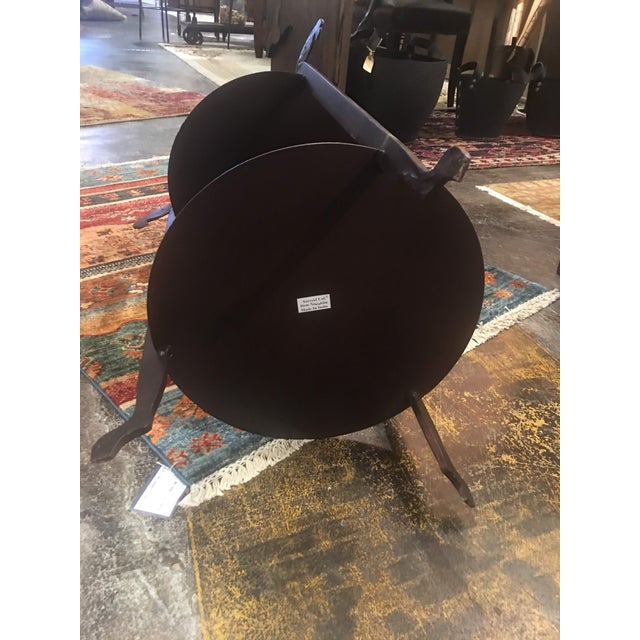 Sarreid Forged Horse Leg Side Table For Sale - Image 11 of 13