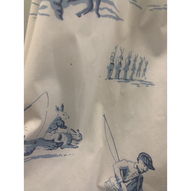 Custom Brunschwig & Fils Fabric Skirted Vanity Table For Sale - Image 11 of 12