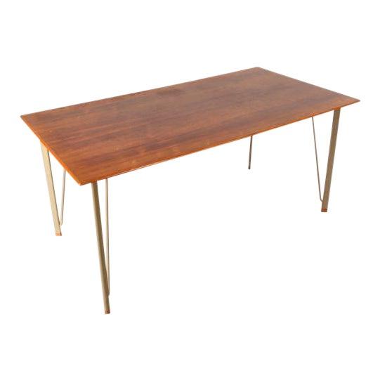 Dining Table by Arne Jacobsen for Fritz Hansen, Denmark, circa 1955 - Image 1 of 10