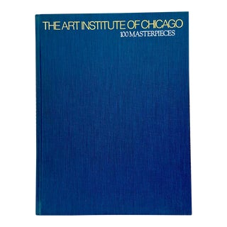 1970's the Art Institute of Chicago-100 Masterpieces Book For Sale