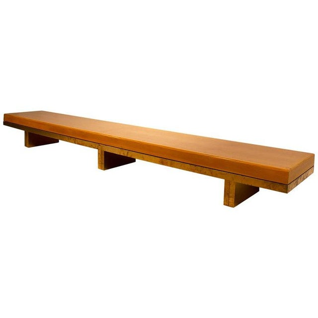 Architectural Bench From the Iconic i.m. Pei Dallas City Hall For Sale - Image 13 of 13