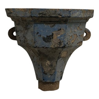 19th Century French Cast Iron Drain For Sale