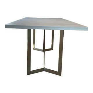 West Elm Tower Dining Table For Sale