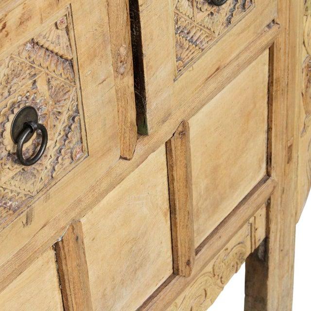 Antique Elmwood Money Dresser - Image 4 of 5