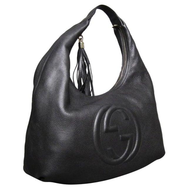 799c8ddc84d Black Gucci Soho Black Hobo Bag For Sale - Image 8 of 8