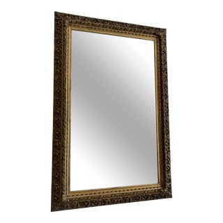 Eli Wilner American Guilded Mirror With Applied Ornaments For Sale